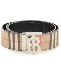 Burberry Tb Buckle Belt - Multicolour