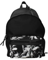 Saint Laurent Backpack And Bumbags Fabric - Black