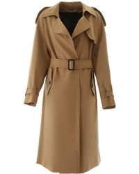 Marni Oversized Trench Coat - Natural