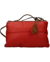 Moncler Handbags Jw Anderson Leather luggage - Red