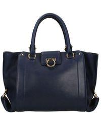 Ferragamo Handbags Women Blue