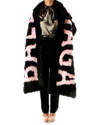 Balenciaga Scarves Women Modacrylic Black