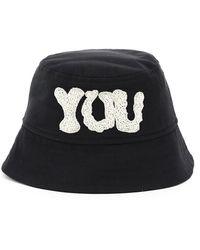Dries Van Noten Gulia Bucket Hat - Black