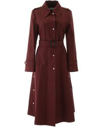 Dior Cotton Trench Coat - Red