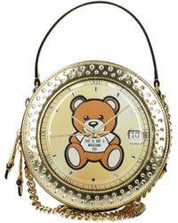 Moschino Handbags Leather - Metallic