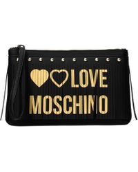 Love Moschino Clutches Women Black