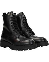 Prada Ankle Boots Woman Black