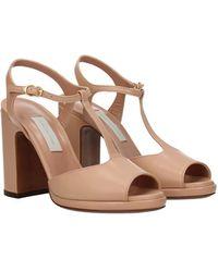 L'Autre Chose - Sandals Leather - Lyst