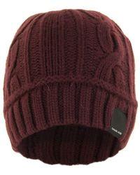 Canada Goose Cable Toque Elderberry Hat - Multicolour