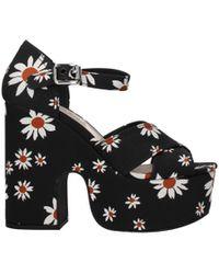 Miu Miu Black Sandals