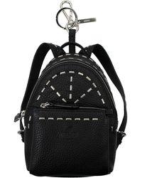 Fendi Pendants Leather - Black