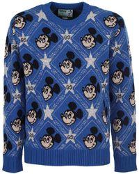 Gucci Blue Disney X Wool Jumper