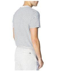 Nautica Essential Stripe Tee Bright White