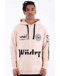 WNDRR Bounty Hood Sweat Sand - Multicolour