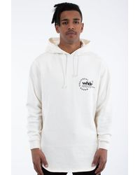 WNDRR Stage Curved Hood Sweat Off White