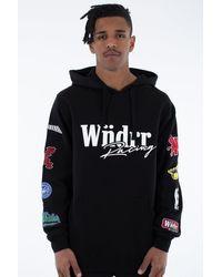 WNDRR Exceed Hood Sweat Black