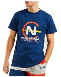 Nautica Competition Hoy Tee Navy - Blue