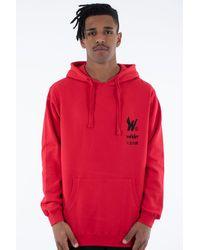 WNDRR Wings Hood Sweat Red