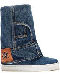 Casadei Snekers Jeans - Blue