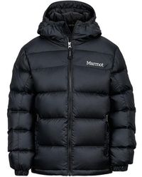 Marmot Kid's Boy's Guides Down Hoody - Black