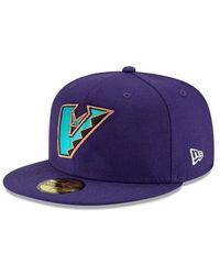 KTZ Q2 Qt 59fifty 8846 Arizona Diamondbacks - Purple
