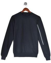 Rick Owens Drkshdw Crew Neck Sweat - Black