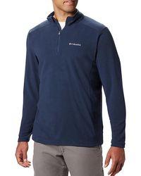 Columbia Klamath Range Ii Half Zip Fleece Pullover - Blue