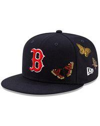 KTZ Felt X Boston Red Sox 59fifty Fitted - Blue