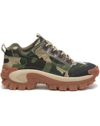 Caterpillar Erpillar Intruder Shoe Camo - Green