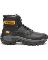 Caterpillar Erpillar Invader Hi Steel Toe Work Boot Black
