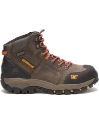 Caterpillar Navigator Steel Toe Work Boot - Gray
