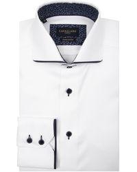 Cavallaro Napoli George Overhemd - Wit