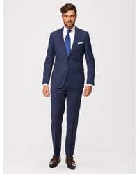 Cavallaro Napoli Men Colbert - Mr Cool Jacket - Blauw - 100% Scheerwol