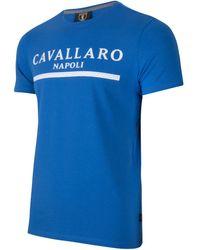 Cavallaro Napoli Heren Jeans - Heren Korte Broek - Cav Tee - Marineblauw - - Marineblauw