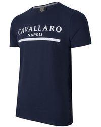 Cavallaro Napoli Heren Jeans - Heren Korte Broek - Cav Tee - Donkerblauw - - Donkerblauw