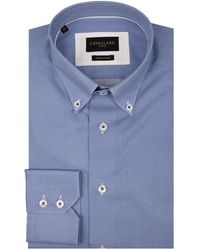 Cavallaro Napoli Pietro Overhemd - Wit