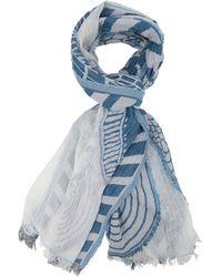 Cavallaro Napoli Giulia Scarf - Blauw