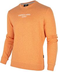 Cavallaro Napoli Paolo Logo Sweat - Oranje