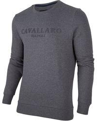 Cavallaro Napoli Mirko Sweat - Grijs