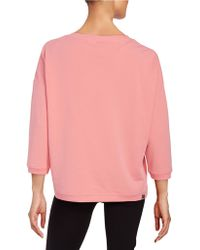 Bench Cotton-blend Knit Pullover - Red