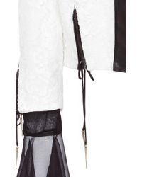 Houghton Regina Lace Jacket - White
