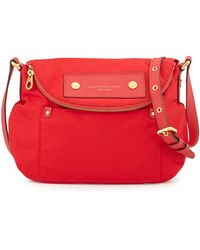 Marc By Marc Jacobs Preppy Nylon Natasha Crossbody Bag Cambridge Red - Lyst