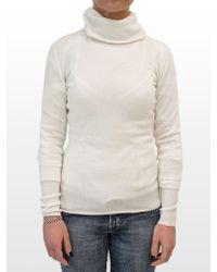 Ones | Ivory Turtleneck Sweater | Lyst