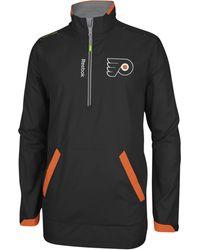 Reebok Men's Pittsburgh Penguins Center Ice Hot Jacket - Black