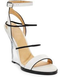 L.a.m.b. Fiby Wedge Sandals - Lyst