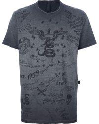 Rude Riders - Printed Tshirt - Lyst