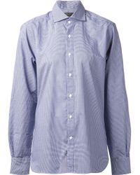 Lorenz Bach - Check Cotton Shirt - Lyst
