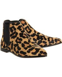 Office Cat Pointy Flat Ankle Boot - Lyst