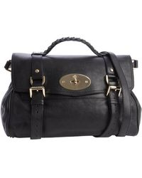 Mulberry Leather Alexa Braided Top Handle Shoulder Bag - Lyst