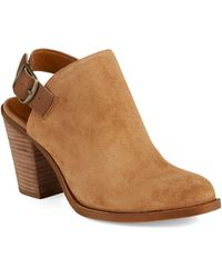 Lucky Brand Brown Emery Booties - Lyst